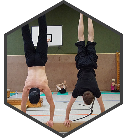 Gemeinsames Calisthenics Training in Olfen